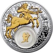 Belarus 20 Roubles Sagittarius 2013 Proof KM# A513 SAGITTARIUS coin reverse