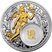 Belarus 20 Roubles Virgo 2013 Proof KM# C512 VIRGO coin reverse