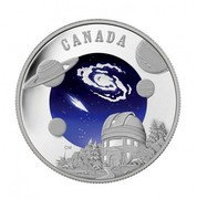 Canada 30 Dollars International Year of Astronomy 2009 Proof KM# 895 CANADA CM coin reverse