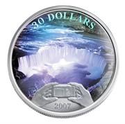 Canada 30 Dollars Niagara Falls 2007 Proof KM# 739 30 DOLLARS 2007 coin reverse