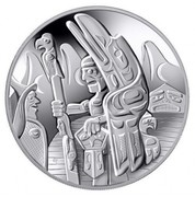 Canada 30 Dollars Totem Pole 2006 KM# 590 - coin reverse