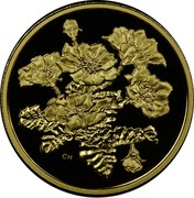Canada 350 Dollars Mountain Avens 2011 Proof KM# 1136 CH coin reverse