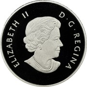 Canada 4 Dollars Welcome to the World 2011 Proof KM# 1129 ELIZABETH II D∙G∙REGINA coin obverse