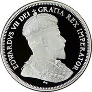 Canada 50 Cents Ottawa Mint Centennial 2008 Proof KM# 780 EDWARDVS VII DEI GRATIA REX IMPERATOR coin obverse