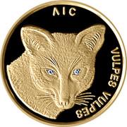 Belarus 50 Roubles Fox 2002 KM# 121 ЛІС VULPES VULPES coin reverse