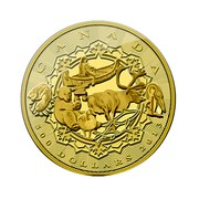 Canada 500 Dollars An Aboriginal Story 2013 Proof KM# 1495 CANADA 500 DOLLARS 2013 coin reverse