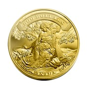 Canada 500 Dollars Canada's First Gold Coins 2010 Proof KM# 1007 500 DOLLARS 1935 CANADA 2010 coin reverse