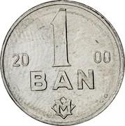 Moldova Ban 2000 KM# 1 Decimal Coinage 19 1 96 BAN C.D. coin reverse