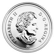 Canada Dollar 100th Anniversary of Flight in Canada 2009 Proof KM# 889 ELIZABETH II DG REGINA coin obverse