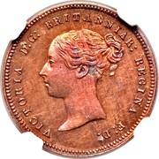 UK Half Farting Queen Victoria 1868 Proof VICTORIA D:G: BRITANNIAR: REGINA F: D: coin obverse