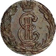 Russia Polushka 1768 КМ C# 1 Siberia Е II К М coin obverse
