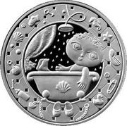 Belarus Rouble Aquarius 2009 KM# 332 coin reverse