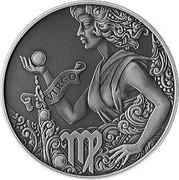 Belarus Rouble Virgo 2015 KM# 490 VIRGO coin reverse