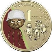 Australia 1 Dollar The Magic Pudding 2018 UNC in Slipcase THE MAGIC PUDDING 1 DOLLAR 1918 - 2018 coin reverse