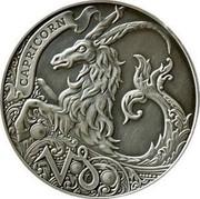 Belarus 1 Rouble Capricorn 2014 Antique finish KM# A457 CAPRICORN coin reverse