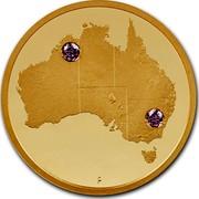Australia 1000 Dollars Multi-Million Dollar Discovery 2018 P Proof P coin reverse