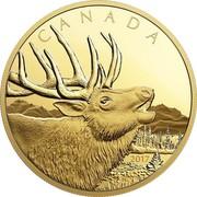 Canada 1250 Dollars Elk 2017 CANADA 2017 PL coin reverse