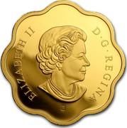 Canada 15 Dollars Blessings of Harmony 2018 ELIZABETH II D • G • REGINA SB P coin obverse