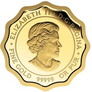 Canada 150 Dollars Blessings of Good Health 2016 Proof ELIZABETH II D·G·REGINA · FINE GOLD 99999 OR PUR · coin obverse