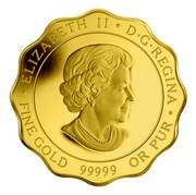 Canada 150 Dollars Blessings of Happiness 2011 Proof ELIZABETH II D∙G∙REGINA ∙ FINE GOLD 99999 OR PUR ∙ coin obverse