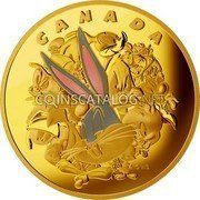 Canada 2,500 Dollars Ensemble Cast 2015 Proof CANADA WB coin reverse
