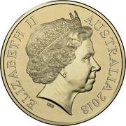 Australia 2 Dollars 2018 Invictus Games 2018  ELIZABETH II AUSTRALIA 2018 IRB coin obverse
