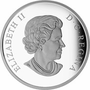 Canada 20 Dollars 150th Anniversary of The Royal Astronomical Society of Canada 2018 Proof ELIZABETH II D • G • REGINA SB coin obverse