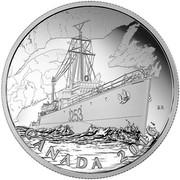 Canada 20 Dollars Patrol Against U Boats 2016 Proof BR CANADA 2016 coin reverse
