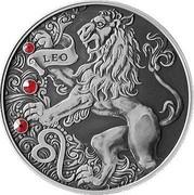 Belarus 20 Roubles Leo 2015 Antique finish KM# 550 LEO coin reverse