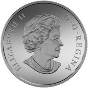 Canada 200 Dollars Canada's Icy Arctic 2016 Matte Proof KM# 2252 ELIZABETH II D∙G∙REGINA coin obverse