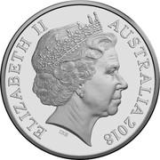 Australia 20c Anzac Spirit - Confident 2018 ELIZABETH II AUSTRALIA 2018 IRB coin obverse