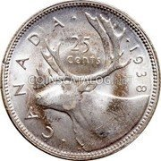 Canadian Silver 25 Cents