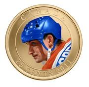 Canada 25 Cents Wayne Gretzky 2011 Specimen KM# 1172 CANADA 25 CENTS 2011 coin reverse