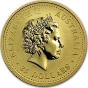 Australia 25 Dollars Kangaroo 2006 BU ELIZABETH II AUSTRALIA 25 DOLLARS IRB coin obverse