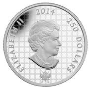 Canada 250 Dollars Battle of Niagara Falls 2014 Proof ELIZABETH II 2014 250 DOLLARS coin obverse