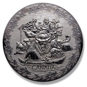 Canada 250 Dollars Early Canada 2007 Proof KM# 751 CANADA coin reverse
