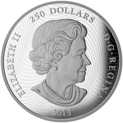 Canada 250 Dollars Looney TunesTM - Ensemble Cast 2015 ELIZABETH II 250 DOLLARS D ∙ G ∙ REGINA 2015 SB coin obverse