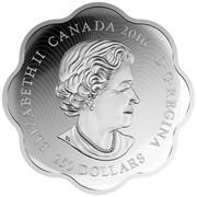 Canada 250 Dollars Lunar Lotus Year of the Monkey 2016 Proof ELIZABETH II CANADA 2016 D∙G∙REGINA 250 DOLLARS coin obverse