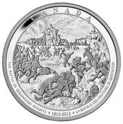 Canada 250 Dollars The War of 1812 - The Battle of Queenston Heights 2012 Proof KM# 1340 CANADA THE BATTLE OF QUEENSTON HEIGHTS 1812 - 2012 LA BATAILLE DES HAUTELIRS DE QUEENSTON coin reverse