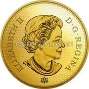 Canada 2500 Dollars (Tribute to the First Canadian Gold Coin)  coin obverse