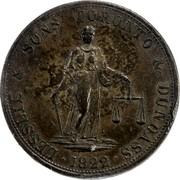 Canada 2D Currency Lesslie & Sons Token 1822  LESSLIE & SONS TORONTO & DUNDAS coin obverse