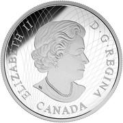 Canada 30 Dollars Batman vs Superman Dawn of Justice 2016 Proof KM# 2137 ELIZABETH II D ∙ G ∙ REGINA CANADA coin obverse