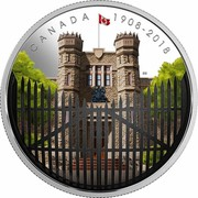 Canada 30 Dollars Royal Canadian Mint Gates 2018 Proof CANADA 1908-2018 SM coin reverse