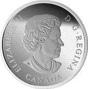 Canada 30 Dollars The Justice League: The World's Greatest Super Heroes 2018 Proof ELIZABETH II D • G • REGINA CANADA SB coin obverse