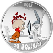 Canada 30 Dollars The Rabbit of Seville 2015 Proof 2015 WB 30 DOLLARS coin reverse