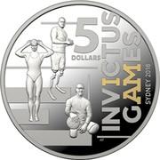 Australia 5 Dollars Invictus Games Sydney 2018 2018 5 DOLLARS INVICTUS GAMES SYDNEY 2018 coin reverse