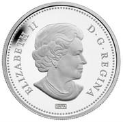 Canada 50 Cents 100th Anniversary of Titanic 2012 Proof KM# 1234 ELIZABETH II D.G.REGINA coin obverse