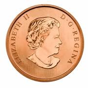 Canada 50 Cents Gifts From Santa - Lenticular 2011 KM# 1191 ELIZABETH II D ∙ G ∙ REGINA coin obverse