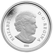 Canada 50 Cents R.M.S. Empress of Ireland - Lost Ships in Canadian Waters 2014 Proof KM# 1636 ELIZABETH II D ∙ G ∙ REGINA SP/PA coin obverse