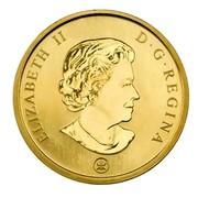 Canada 50 Cents Snowman 2008 Prooflike KM# 779 ELIZABETH II D. G. REGINA coin obverse